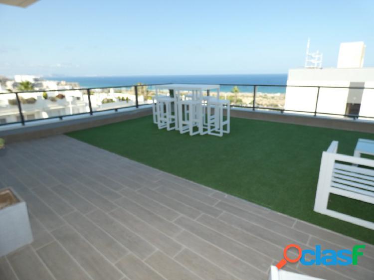 Obra nueva apartamentos en santa pola - gran alacant con terraza y vistas al mar