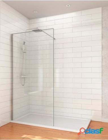 Mampara de ducha lateral fijo panel fijo walk in