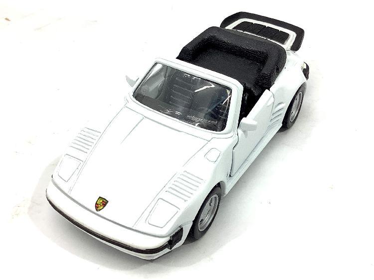 Coche metal maisto porsche 911 turbo flat nose cabriolet