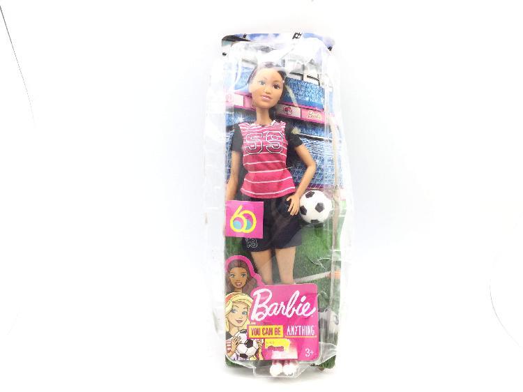 Muñecas mattel barbie futbol