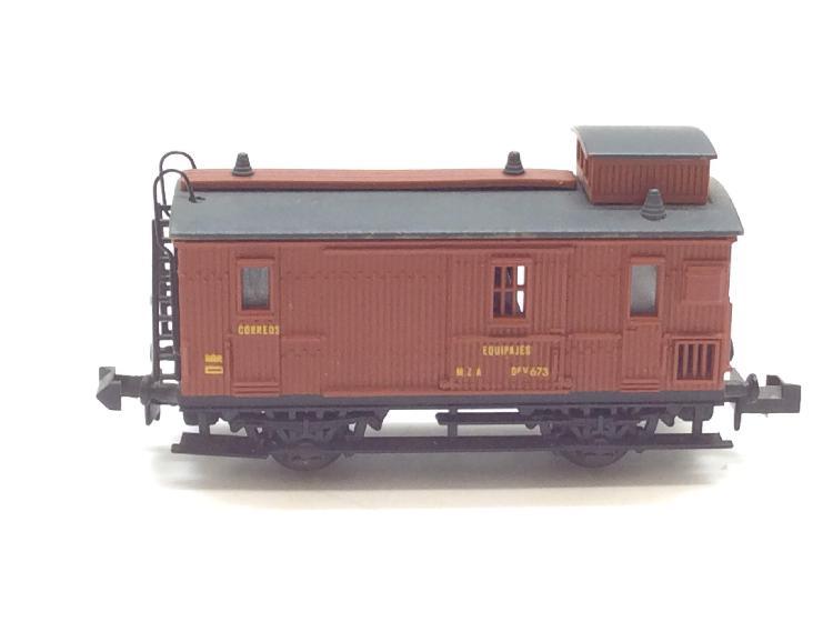 Vagon escala n ibertren equipajes/correos