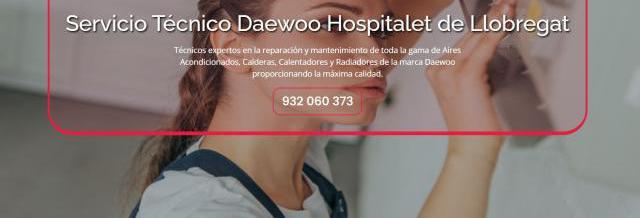 Servicio técnico daewoo hospitalet de llobregat 934242687