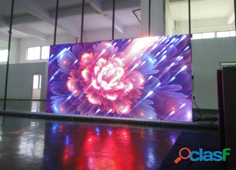 Fabricante de Pantallas LED publicitarias para interior y exterior