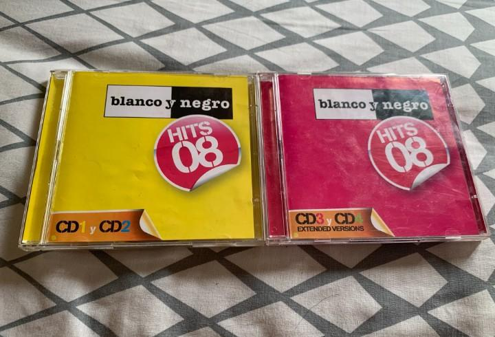 Blanco y negro hits 2008