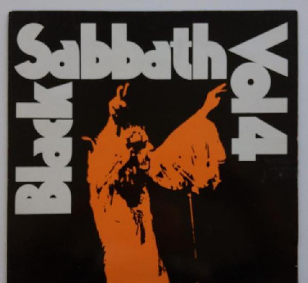 Black sabbath – black sabbath vol. 4, ireland 1982 nems