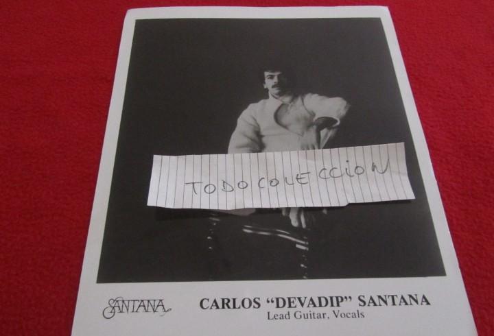 Carlos santana, foto promocional,