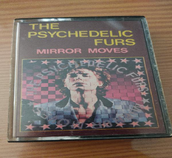"""Cassette the psychedelic furs """"mirror moves"""",primera"""