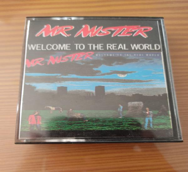 """Cassette de mr. mister """" welcome to the real world"""","""