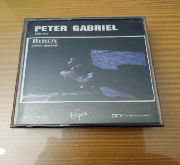 "Cassette de peter gabriel "" birdy "", primera edición"