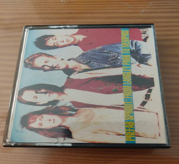 """Cassette de prefab sprout """" from langley park to"""