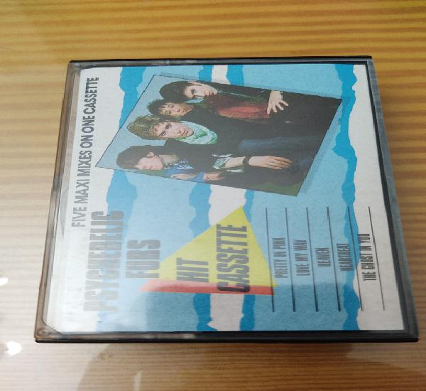 """Cassette de psychedelic furs """"hit cassette"""" edición"""