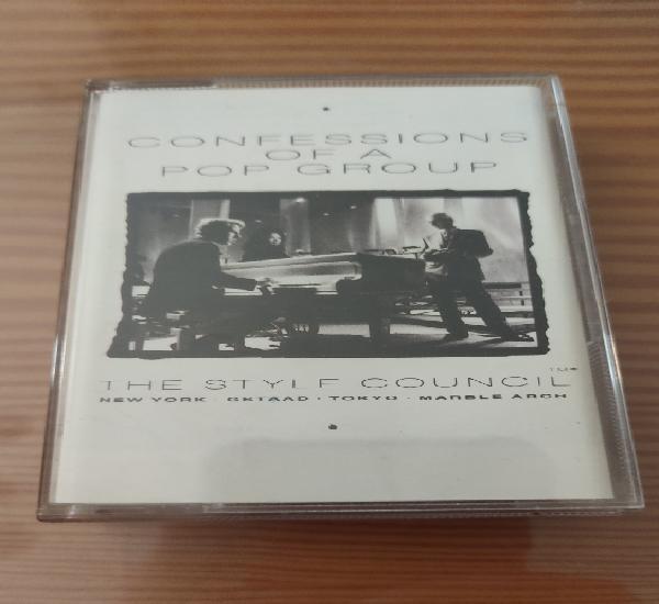 """Cassette de the style council """" confessions of a pop group"""