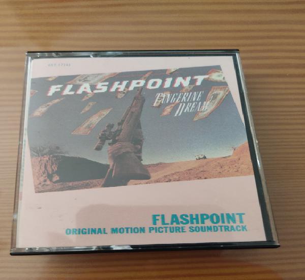 """Cassette de la b.s.o. de flashpoint """"tangerine dream"""""""