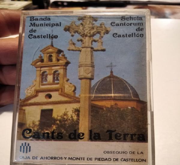 Cinta casette banda municipal de castellón cants de la
