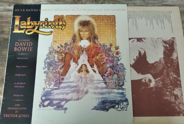 David bowie - labyrinth (bso jim henson) *** lp edición