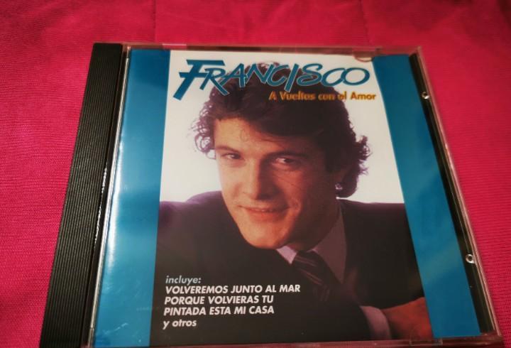 Francisco a vueltas con el amor cd album del año 1997
