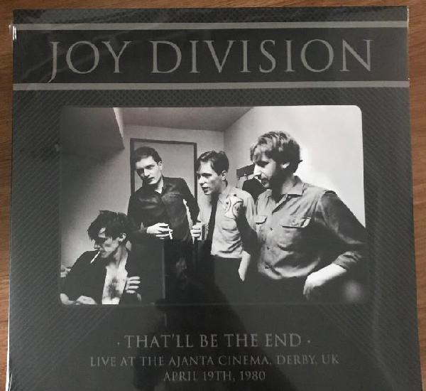 Joy division - that'll be the end - live ajanta cinema derby