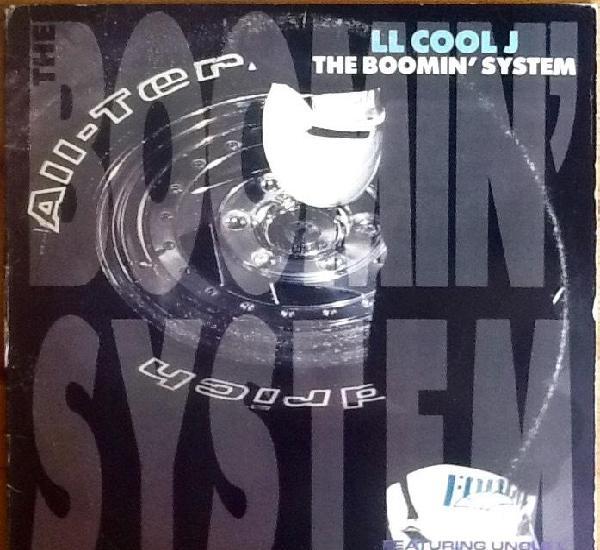 """L.l. cool j.: the boomin' system [usa 1990] 12"""""""