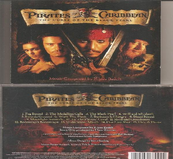 Los piratas del caribe - the curse of the black pearl (cd,