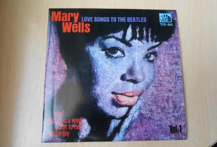 Mary wells, ep, help + 3, año 1965