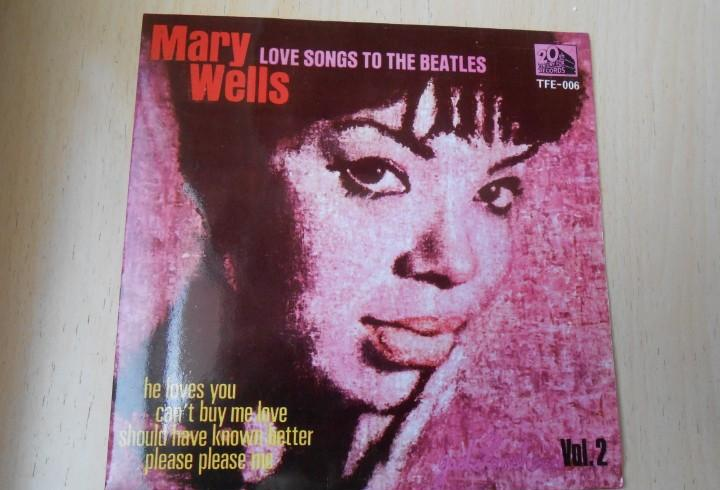Mary wells, ep, she loves you + 3, año 1965