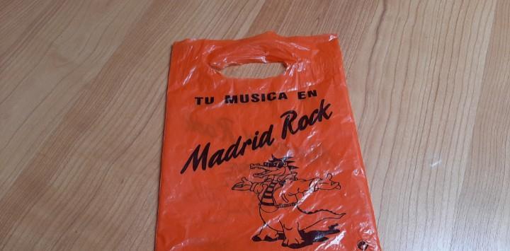Madrid rock -- bolsa, bolsita -- tamaño cd -- mítica