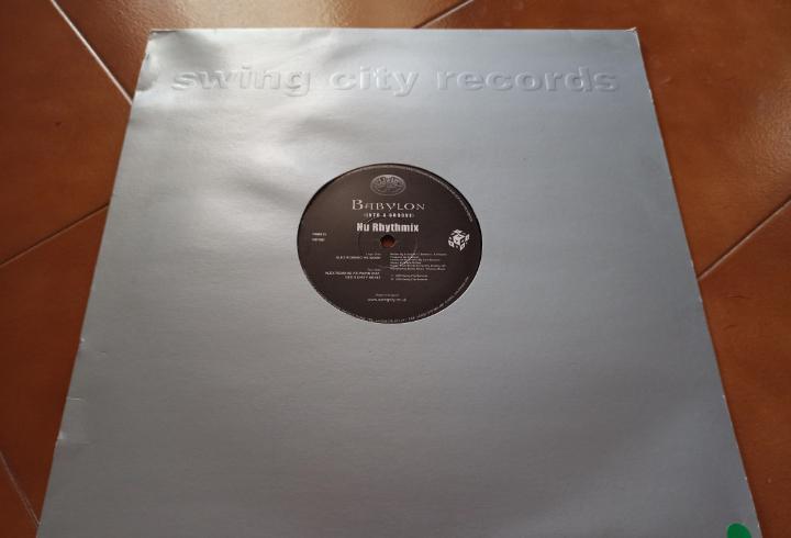"""Nu rhythmix - babylon (into a groove) (12"""")"""
