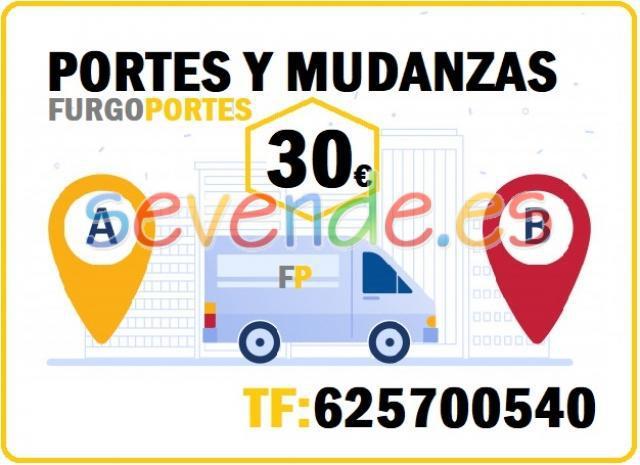 Portes En Ventas 625700540 Furgón 12m3 La eli