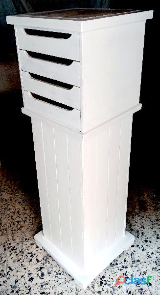 Mueble pedestal soporte de escultura 1