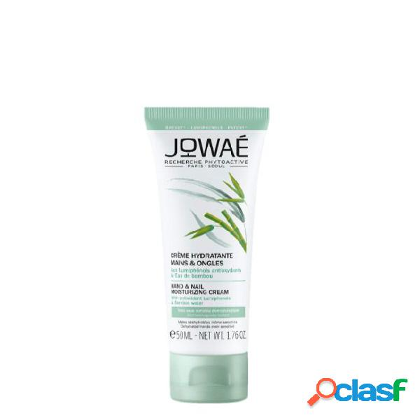 Jowaé hand and nail moisturizing cream with bamboo water 50ml
