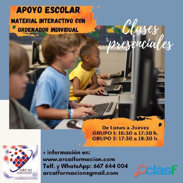 Clases de Apoyo Escolar, Primaria, ESO, Bachillerato y Grados