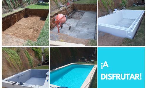 Kit construcción piscina 5x3