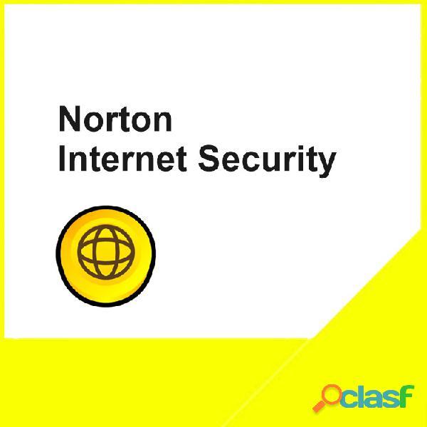 NORTON INTERNET SECURITY 1PC/1AÑO