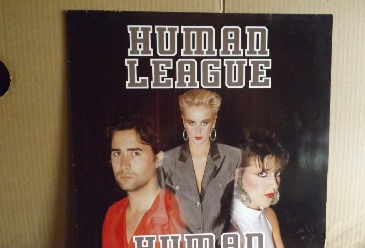 Human league --- human - maxi single