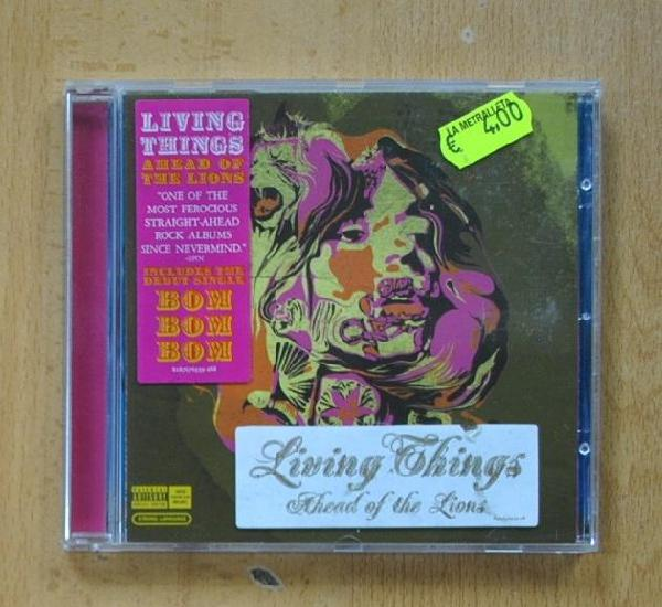 Living things ?- ahead of the lions - cd