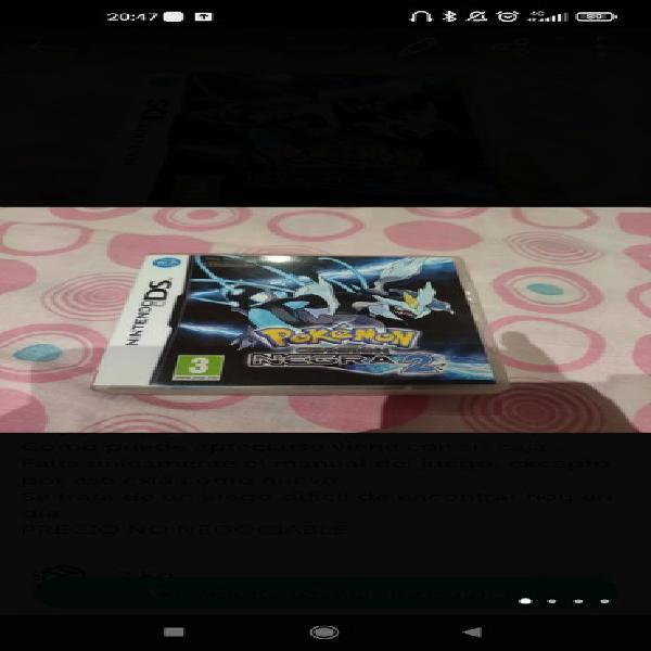 Pokemon edición negra 2