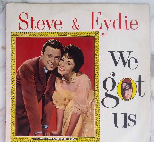 Steve lawrence and eyde gorme, steve & eydie. we got us. lp