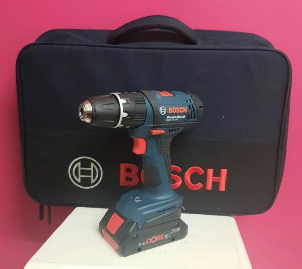 Taladro atornillador a bateria bosch gsb 18