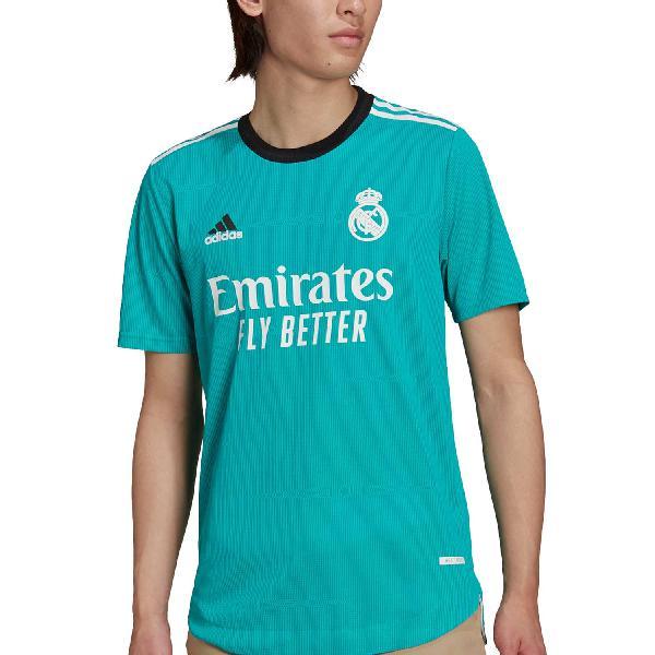 Camiseta adidas real madrid 3a authentic 2021 2022
