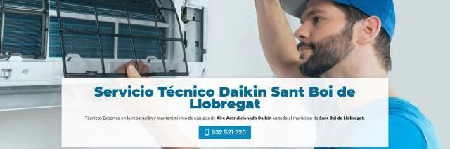 Servicio técnico daikin sant boi de llobregat 934242687