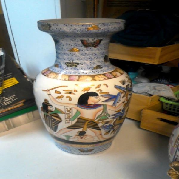 Compre la oportunidad de jarrón decoración egipcio