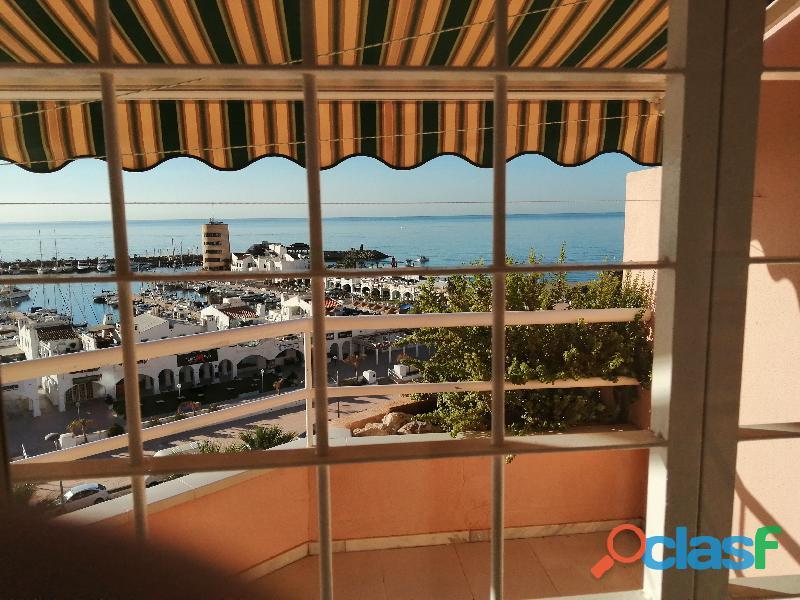 Alquiler piso frente Puerto Deportivo de Aguadulce Almería