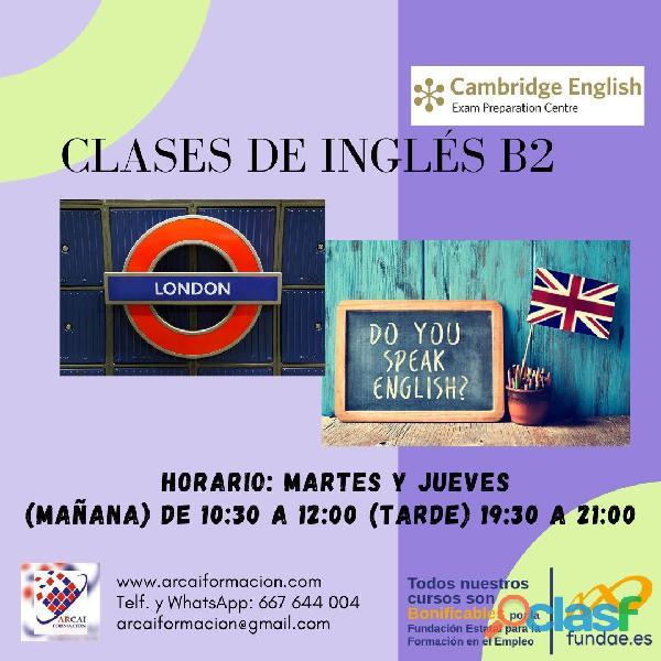 Curso de inglés B2