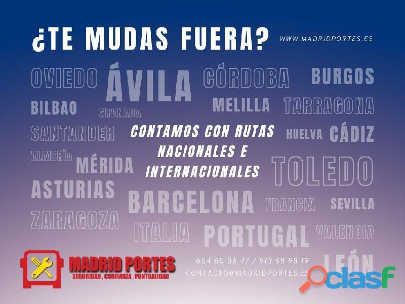 MUDANZAS NACIONALES, MADRID ECONOMICOS