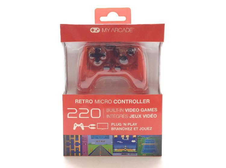 My arcade retro micro controller 220 games