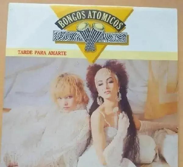 Bongos atomicos - tarde para amarte (sg) 1987