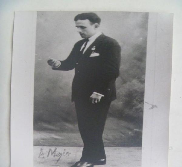 Foto ampliacion del cantao flamenco manuel vallejo, llave de