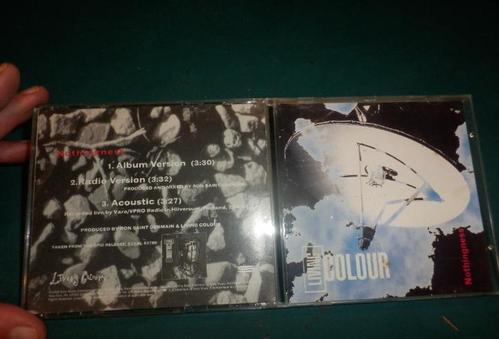 Living colour - nothingness - cd single promocional 3