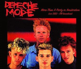 Lp- depeche mode/ more than a party in amsterdam live 1983