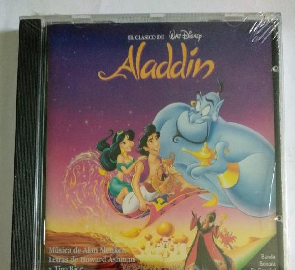 Precintado cd 1994 disney - aladdin / banda sonora en